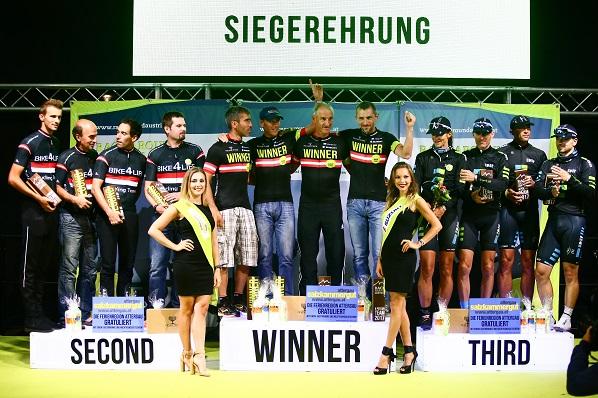 Race Around Austria Siegerehrung
