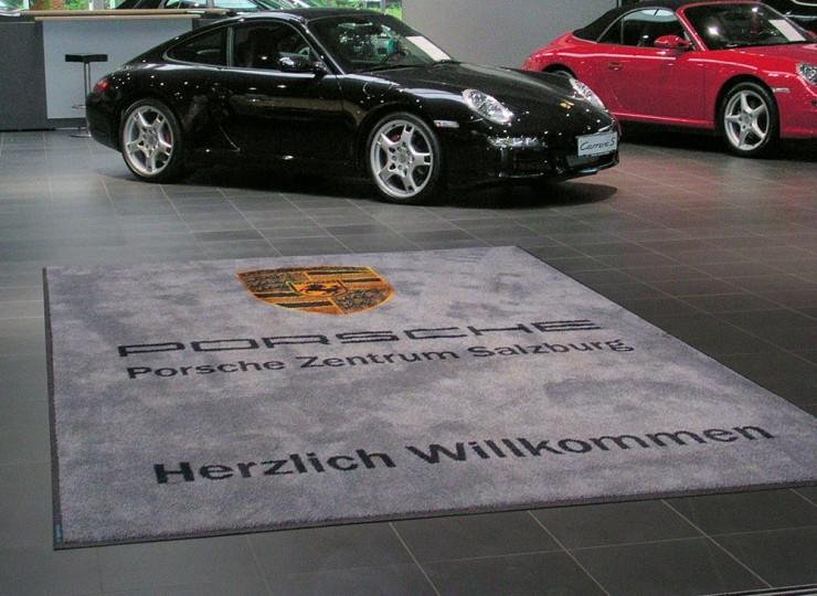 Grafikmatte Porsche