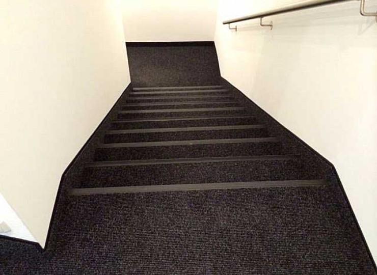 Rips im Treppenhaus