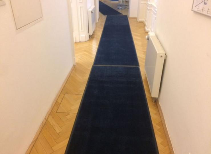 Matte von Eder Unicolor dunkelblau